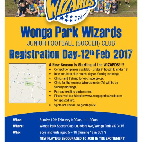 A New Season Is Starting at the WIZARDS!!!!  Spots are limited, so get in quick!